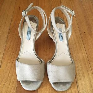 Prada Women's Suede Sandals